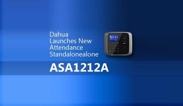Dahua unveils new attendance standalone - ASA1212A