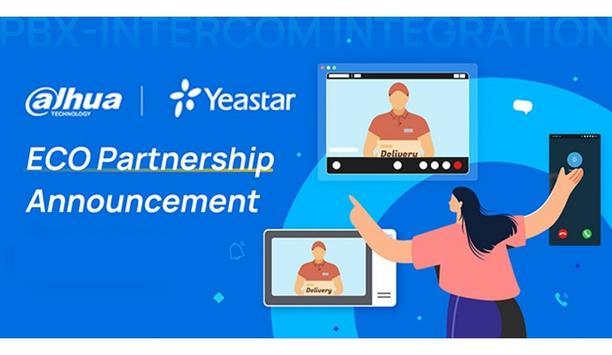 Dahua Technology and Yeastar announce their new ECO partnership on PBX-Intercom integration