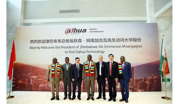 Dahua Technology Headquarters Welcomes President Emmerson Mnangagwa Of Zimbabwe And Delegation