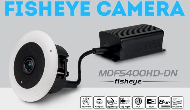 Dallmeier MDF5400HD-DN IP fisheye camera offers 360° panoramic day/night vision