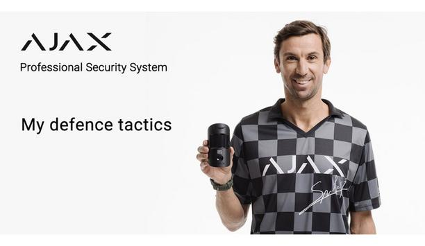 Ajax Systems appoints Darijo Srna as a brand ambassador in Croatia