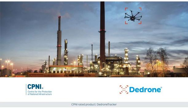 Dedrone achieves CPNI Certification for counter-drone technology platform, DedroneTracker for the second consecutive year