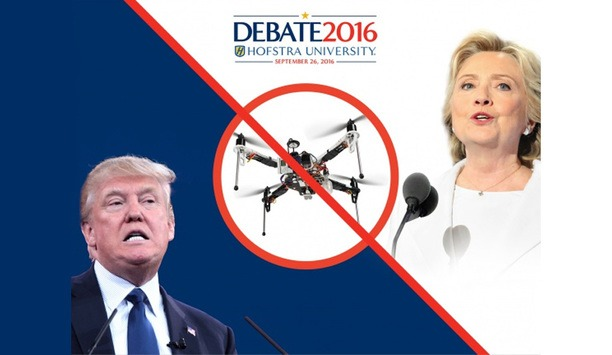 Dedrone DroneTracker system protects presidential debate against rogue drones