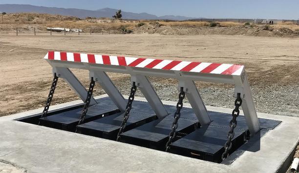 Delta's new Open Frame Vehicle Barrier