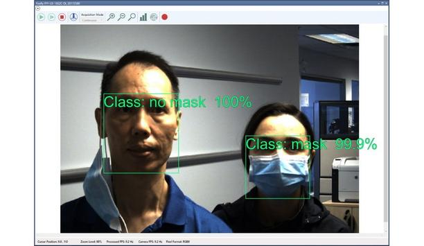 FLIR Systems Develops Deep Learning Facemask Detection Prototype In Two Days