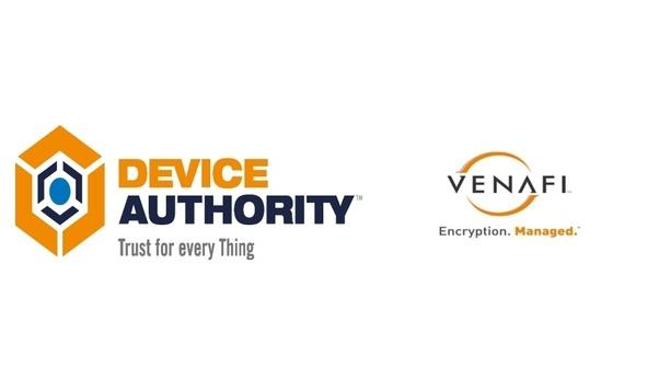 Device Authority and Venafi introduce KeyScaler, developed by Machine Identity Protection Development Fund's sponsorship