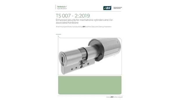 DHF publishes new document, TS 007-2:2019 - Enhanced security for mechatronic cylinders