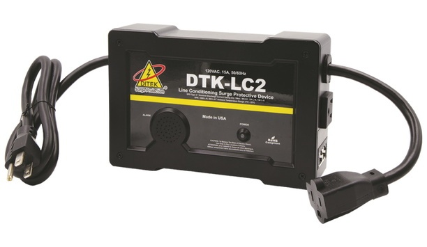 DITEK Announces DTK-LC2 Line Conditioning Surge Protective Device To Provide Reliable Protection