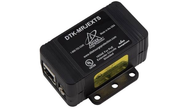 DITEK To Showcase DTK-MRJEXTS Surge Protector For PoE Extenders At ISC West 2018