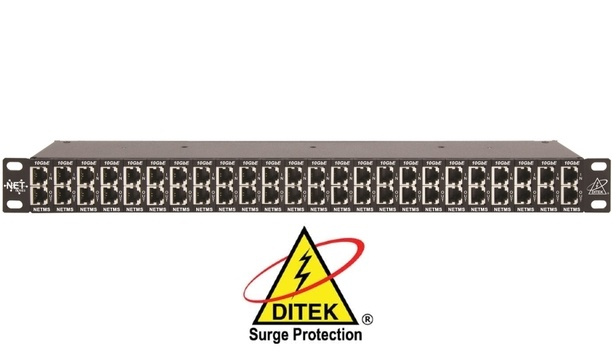DITEK To Unveil DTK-RM24NETS Surge Protector For Shielded PoE Connections At ISC West 2018