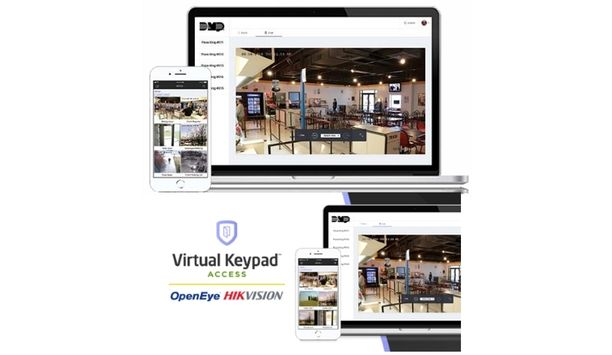 DMP Announces Integration With OpenEye And Hikvision Video Systems Via The Virtual Keypad App Or Browser
