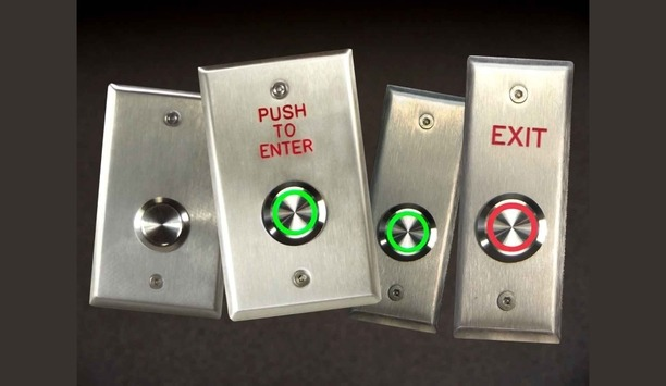 Dortronics' waterproof push button switches portfolio showcased at ISC West 2018