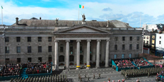 360 Vision's Predator and Centurion PTZ cameras safeguard 1916 commemoration parade in Dublin