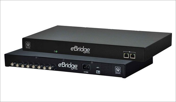 Altronix Showcases EBridge800E EoC Receiver With Integral PoE Switch At ISC West 2017