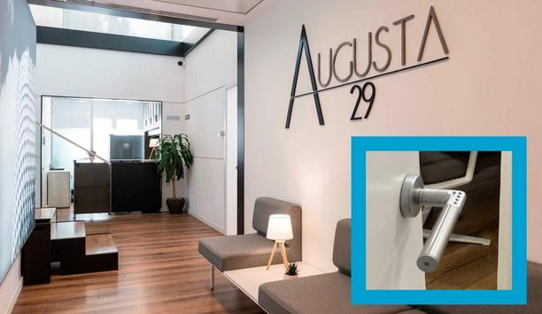 Code Handle® Door Locks Key-Free Door Security Saves Everyone's Time At Augusta 29 Barcelona Office