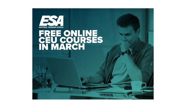 Electronic Security Association Offers Selective Free Courses For The Businesses Affected By COVID-19