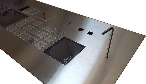 Urmet introduces Elekta INOX, a brushed stainless steel door entry panel