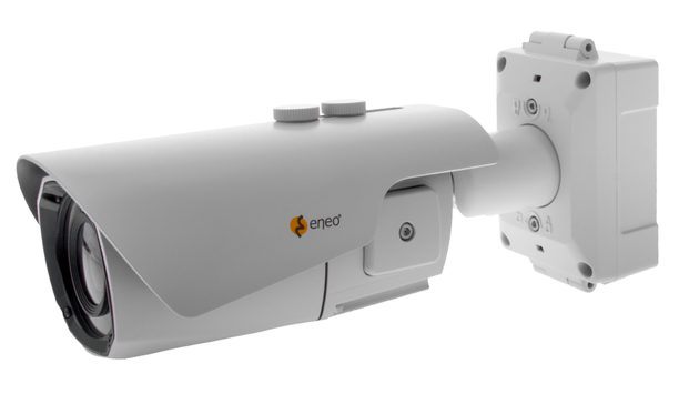 Eneo enhances bullet cameras with an integrated compact junction box