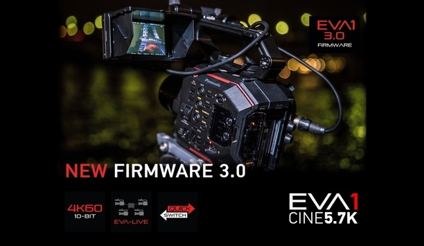 Panasonic's new upgrade to EVA1 camera features HEVC H.265 codec