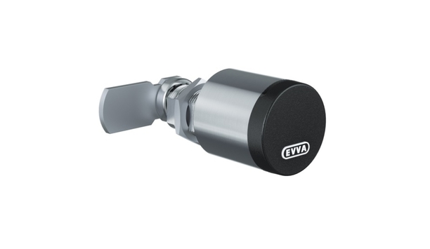 EVVA's electronic cam lock can be integrated into any AirKey and Xesar access control system