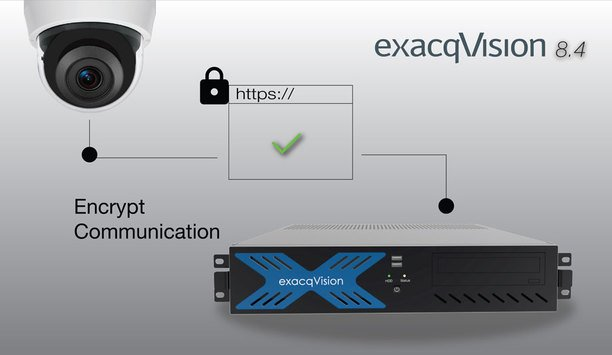 Tyco Security Products adds important cybersecurity features to exacqVision 8.4