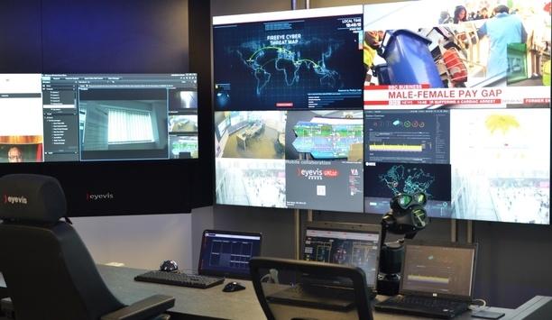 eyevis UK demonstration venue secures £3 million in New Business