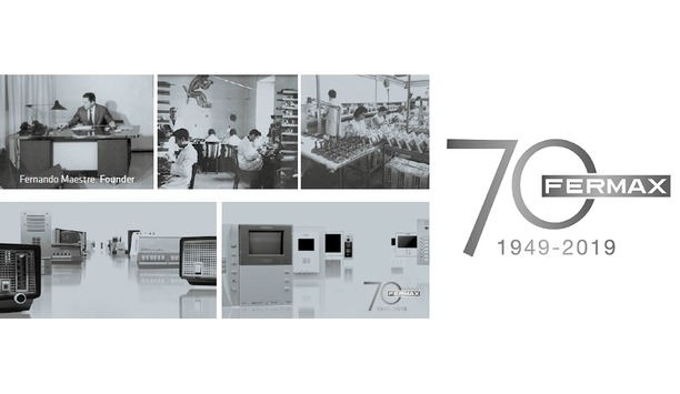Fermax celebrates 70 years as the provider of video door entry systems for residential buildings