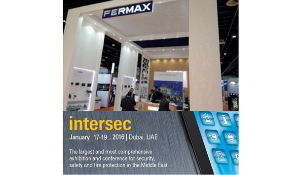 FERMAX showcases door entry systems and home automation solutions at INTERSEC 2018