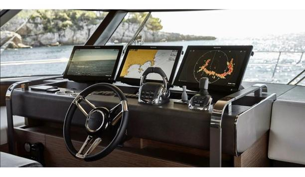 FLIR's Raymarine brand electronics gets selected by premium yacht builders for their rugged product design