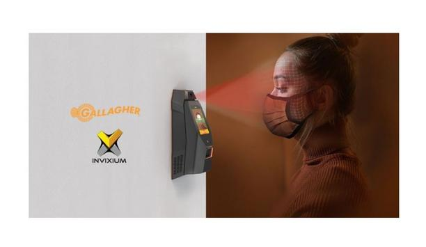 Gallagher Command Center And Invixium IXM WEB Software Integration Offers Contactless Biometric Temperature & Mask Detection