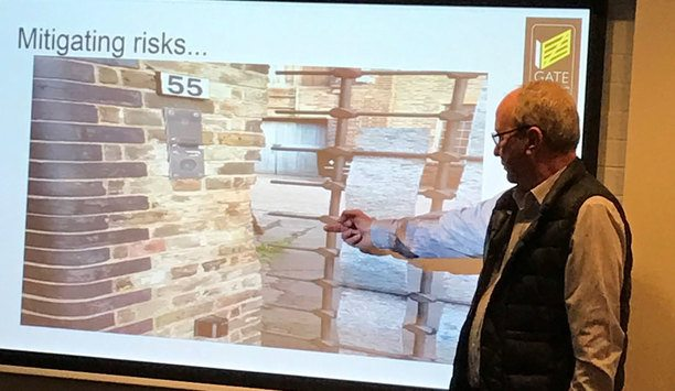 Gate Safe's Richard Jackson speaks at industry event organised by Interphone