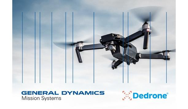 General Dynamics Mission Systems And Dedrone Enter Strategic Partnership To Provide Counter-Drone Technology To Defense And Civil Customers