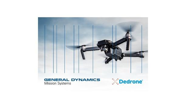 General Dynamics Missions Systems And Dedrone Announces Counter-Drone Partnership To Defense Customers