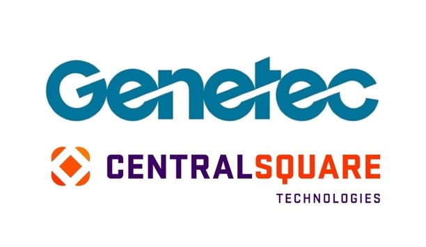 CentralSquare and Genetec partner to offer data-driven software and display solutions at IACP 2019