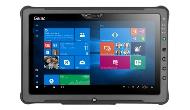 Getac launches new F110-Ex tablet for exceptional productivity in hazardous environments