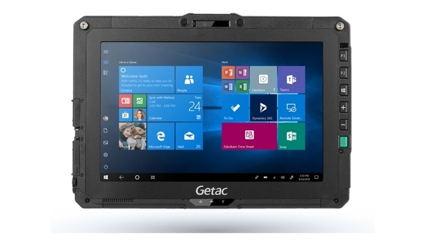 Getac announces UX10 rugged tablet to enhance and maximise worker productivity