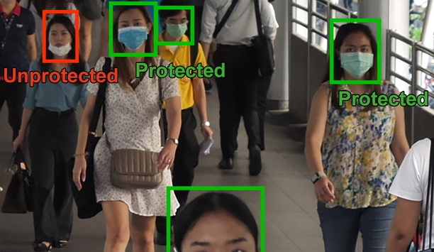 Geutebrück brings contactless real-time face-mask detection, body temperature video security solution