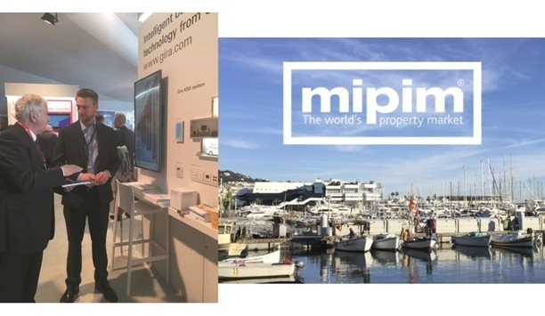 Gira to showcase latest smart building solutions and functions at MIPIM 2018