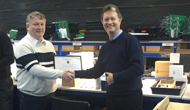 GJD's technical director Chris Moore completes 30 years of service