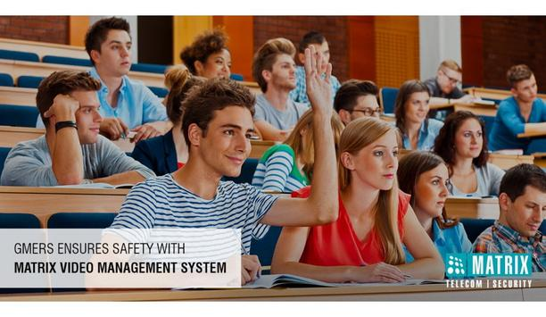 GMERS ensures safety with Matrix video management software