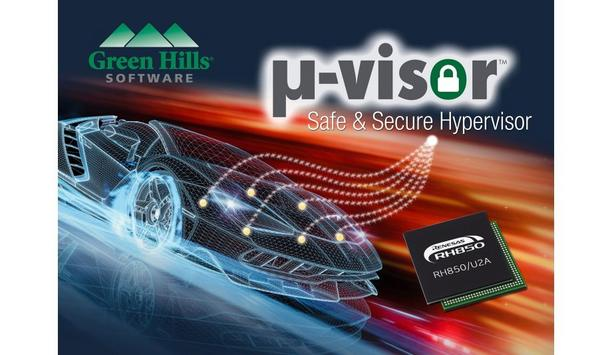 Green Hills Software releases µ-visor for the Renesas RH850/U2A microcontroller