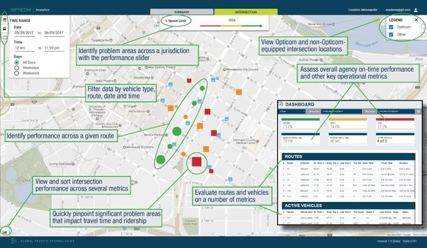 GTT Showcases Opticom Analytics And Priority Control As A Service Solutions At Transit Bus Summit 2018