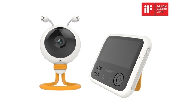 Hanwha Techwin's BabyView eco and Wisenet Circle receive iF Design Awards