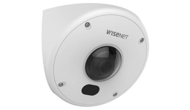 Hanwha Techwin to unveil Wisenet TNV-7010RC corner mount camera at GSX 2018