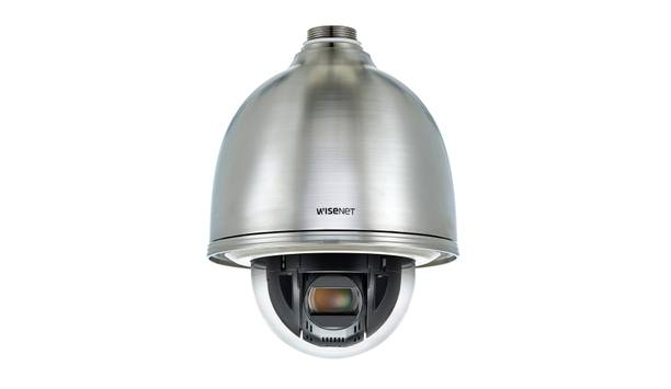 Hanwha Techwin America Exhibits Wisenet Stainless Steel Cameras At ISC West 2018