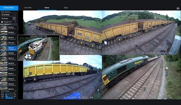 Hanwha Techwin installs dome cameras at Ambergate rail site to monitor progress of work