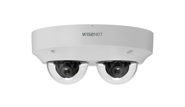 Hanwha Techwin introduces two channel multi-directional Wisenet PNM-9000VD camera
