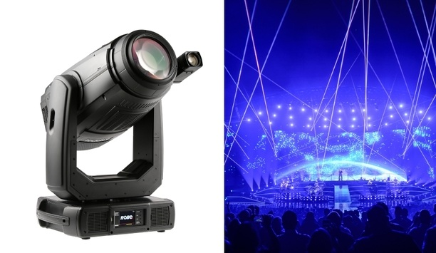 Hanwha Techwin's Wisenet SNZ-6320 integrates with Robe Lighting's BMFL FollowSpot to create Smart Light