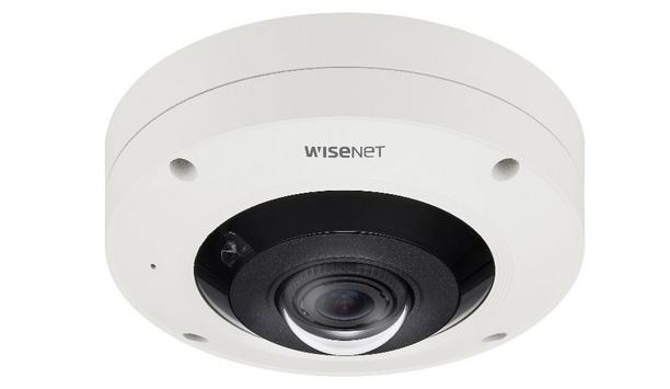 Hanwha Techwin Unveils Wisenet 7 XNF-9010RV Fisheye Camera Offering 360° Multi-Directional Monitoring