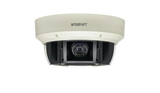 Hanwha Techwin unveils advanced Wisenet P series multi-sensor cameras at ASIS 2017